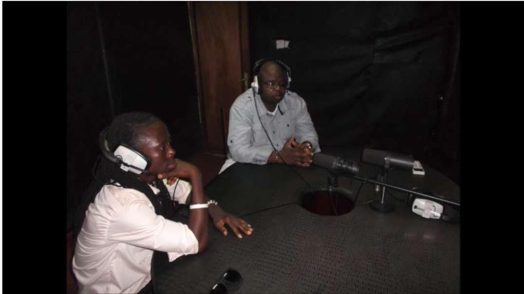 Mr. Hafiz CEO of African Radio TV interviews with AYV Radio